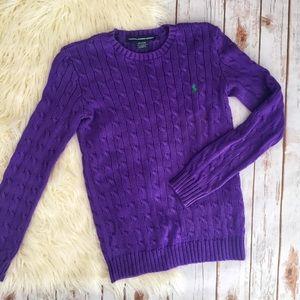Women's Purple Sweater Outfit on Poshmark